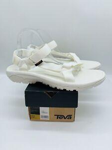 Teva Men's Hurricane XLT2 Cross-Strap Water-Resistant Sandals White US 12 EUR 45