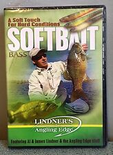Lindner's Angling Edge - Softbait Bass, Soft Touch -  DVD NEW Sealed
