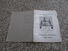 AGENDINA DEL CALCIO 1936-1937 BARLASSINA OTTIMA TIP. GAZZETTA DELLO SPORT