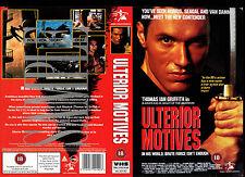 Ulterior Motives - Thomas Ian Griffith - Video Promo Sample Sleeve/Cover #14367