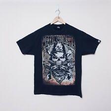 Metal Mulisha Size XL Large Black Western Skull Graphic Short sleeve Tee T Shirt