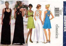 Butterick Misses' Dress Pattern 5542 Size 18-22 UNCUT