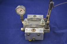 Fluidron Hydraulik Handhebelventil Steuerventil 2 Sektionen