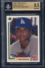 1991 Upper Deck Final Edition rc #2F Pedro Martinez BGS 9.5