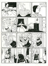SAMMY HARKHAM Kramers Ergot #8 ORIGINAL COMIC ART Signed