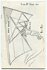 "1972 Hang Gliding Magazine: ""LOW & SLOW"" - Issue # 14"