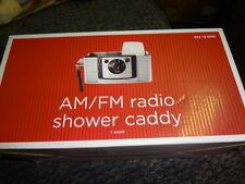 New ListingAm/Fm Radio Shower Caddy Holder New