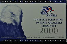 2000-S US QUARTER PROOF SET(ORGINAL MINT PACKAGING (5 GEM Proofs)