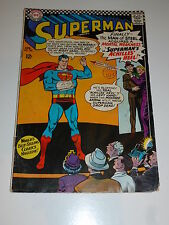 SUPERMAN Comic - No 185 - Date 04/1966 - DC Comics