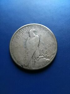 1922 US Peace Dollar ($1) Silver Coin, No Reserve!