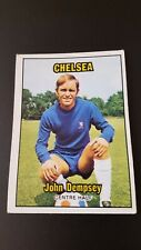 A&BC 1970 Footballer Card Orange Back - John Dempsey - Chelsea - #104