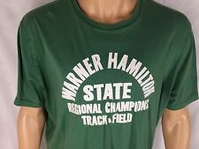 Warner Hamilton Track Field Champions T-Shirt XL Green Lucky Brand Classic Fit