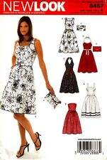 New Look Sewing Pattern 6457 Ladies Dress and Purse Bag