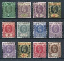 [55873] Fiji good lot MH Very Fine stamps (Script CA wtmk)