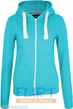 Unbranded Polycotton Zip Neck Hoodies & Sweats for Women