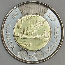 CANADA's 150th anniversary (1867-2017) with special reverse -Lot of 6 coins -MS