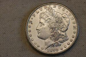1878-CC Morgan Silver Dollar - BU