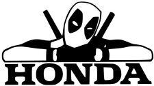 HONDA JDM DEADPOOL DECAL CAR TOOL BOX SNAP-ON VINYL LOGO STICKER (12COLORS )