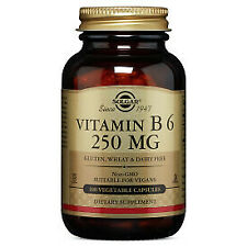 Vitamin B-6 250mg Solgar 100 Caps