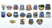 Vintage Lot Of 20 Military Insignia Pins Asa Military Intelligence