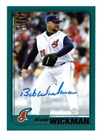 2020 Topps Archives Fan Favorites Autograph Bob Wickman Cleveland Indians