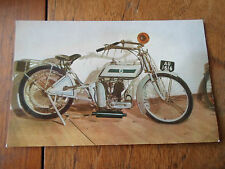 1910 REX 5 h.p. - Murrays Motor Cycle Museum ~ Colour RP Postcard