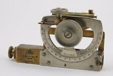 Scientific Instrument. E. R. Watts & Sons engineer's & surveyor's inclinometer
