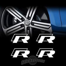 4 Adesivi pinze freni R - Line stickers  VW Volkswagen POLO GOLF SCIROCCO TUAREG