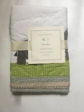 New Pottery Barn Kids Baby Toddler Brooks Elephant Quilted Pillow Sham 12X16