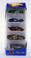 HOT WHEELS BLACK TOPS 5-PACK Gift Set Die-Cast Cars MISB 2006