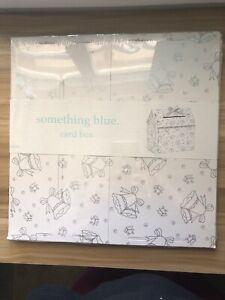 """DIY Wedding Card Box - """"Something Blue"""""""