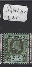LEEWARD ISLANDS (P1610B)  KE  1/-   SG 43   VFU