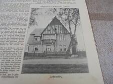 1911 baugewerkszeitung 14/pioggia bosco Pomerania