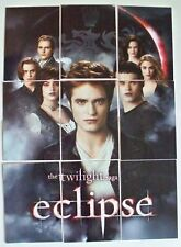 Twilight NECA Saga Eclipse Series 1 The Cullens 9-card Puzzle insert set  A1-A9
