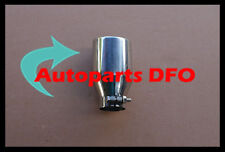 "Universal Muffler Tip 2"" Inlet Round Bolt On Angle Cut 3"" Outlet 6.7"" Long"