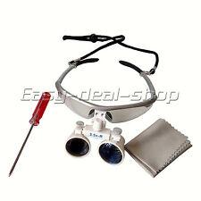 Dentist Dental Surgical Medical Binocular Loupes 3.5X-R Optical Glass GD