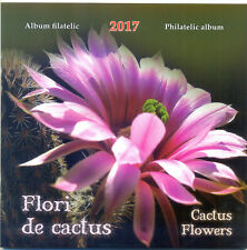 RUMANIEN   2017 ALBUMFLOWERS  WITH SPECIAL BLOCKS  + FDC MNH . TIRAGE 255