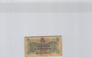Chambre de Commerce de Constantine 50 Centimes 1er Mai 1915 Série B n° 006660