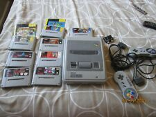 Snes Console - six games two controllers