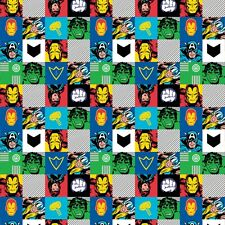 AVENGERS ACTION ALLOVER FABRIC CP64344