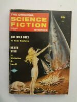 Original Science Fiction/Science Stories - January 1958 - Freas Emsh cover