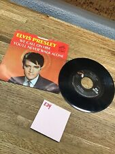 Elvis Presley 45 W/PS We Call On Him/You'll Never Walk Alone E24