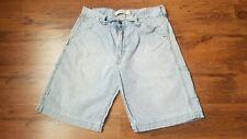 LEVIS CARPENTER denim men shorts,light blue,size-W34