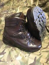 Genuine British Issue Brown cold Wet weather Iturri Boots!hardly worn! Size 8 M!