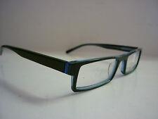 Genuine Anteojos Gafas Marcos Negro/Verde/Azul Cuadrado Grueso 3001PHA-G-083
