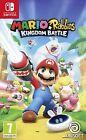 Nintendo Switch Mario + Lapins Crétins Kingdom Battle Neuf Scellé Pal Espagne