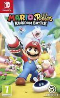 Nintendo Switch Mario + Rabbids Kingdom Battle Nuevo Precintado Pal España