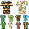 3D T-Shirt Short Sleeve Summer Printed Men Women's Beach Vocation Style Tops Tee