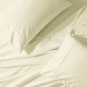 Split Top King- Flex Top King Percale Deep Pocket Bed Sheets Set