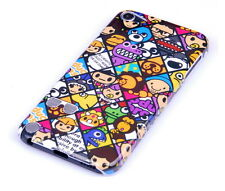 Custodia protettiva per Apple iPod Touch 5 5g Case Cover Custodia Guscio emoticon COMIC